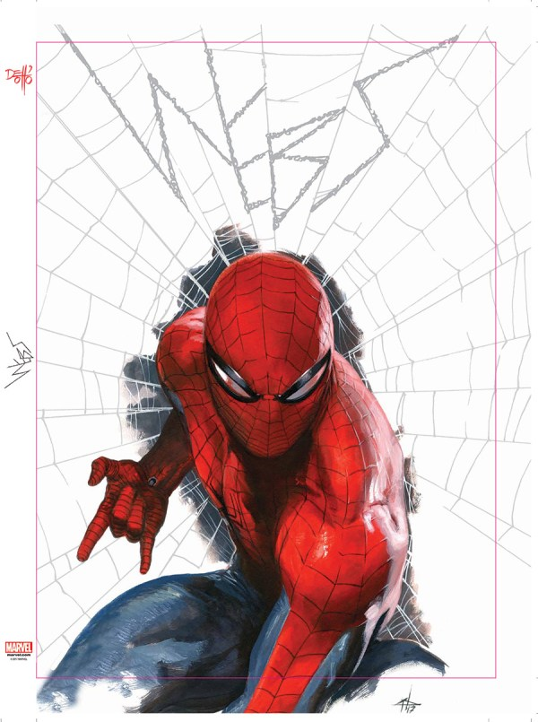 "Spider-man ""webs"" Gabriele Dell'otto - Comic Art Community Of"