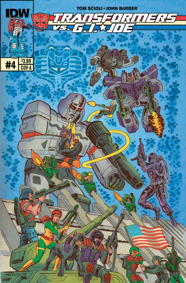 Transformers . Joe #4 - Comic Art Community Of