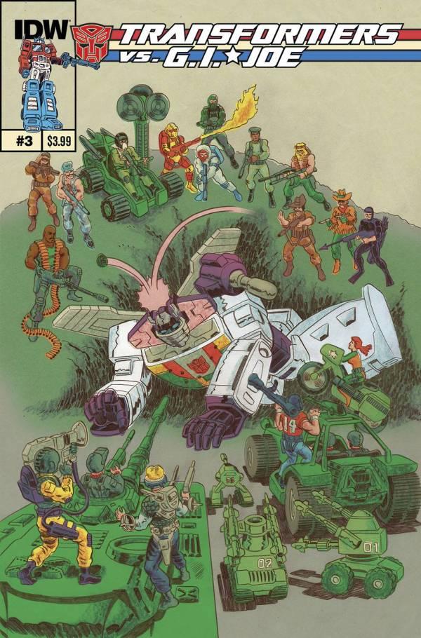 Transformers Gi Joe #3 - Comic Art Community Of