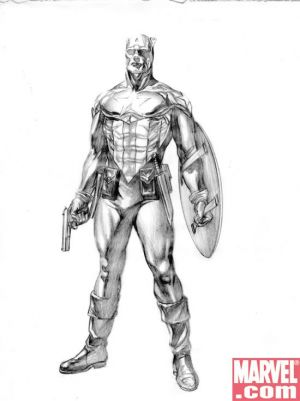 Captain America Redesigned By Alex Ross