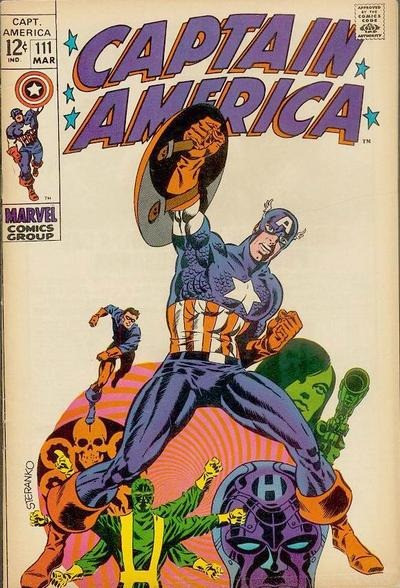 Jim Steranko Marvel Covers and Art Gallery