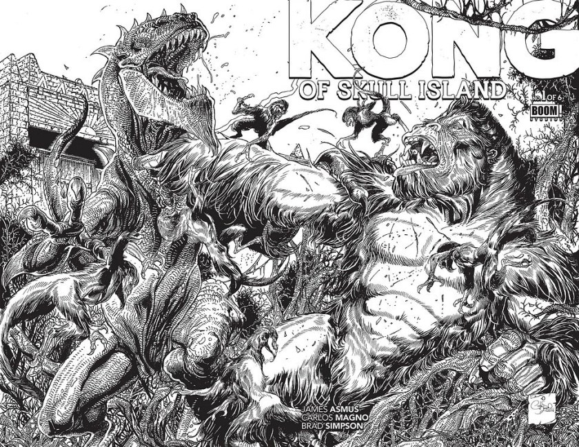 preview of kong of skull island #1asmus & magno
