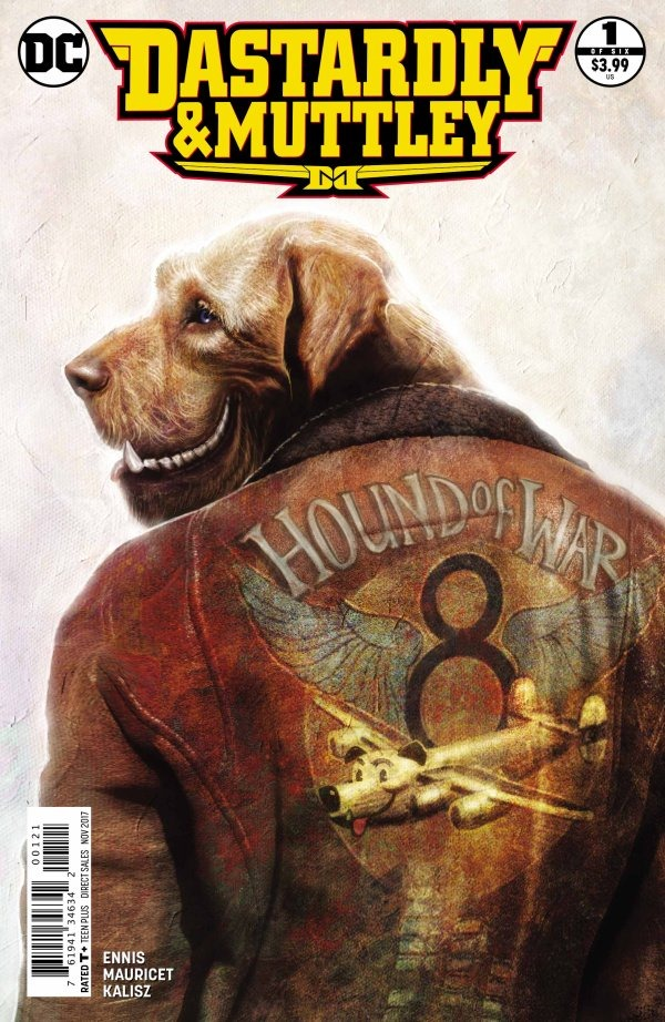 Preview Dastardly & Muttley #1 By Ennis & Mauricet DC