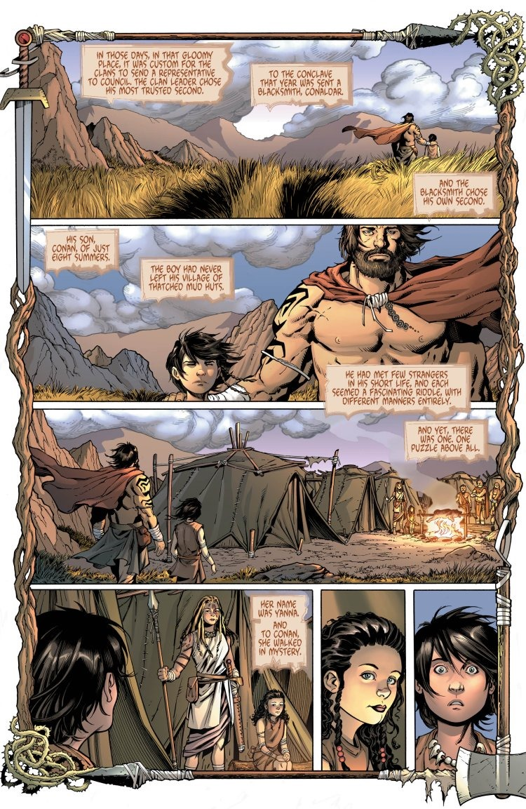 Preview Wonder WomanConan 1 by Simone Lopresti  Ryan