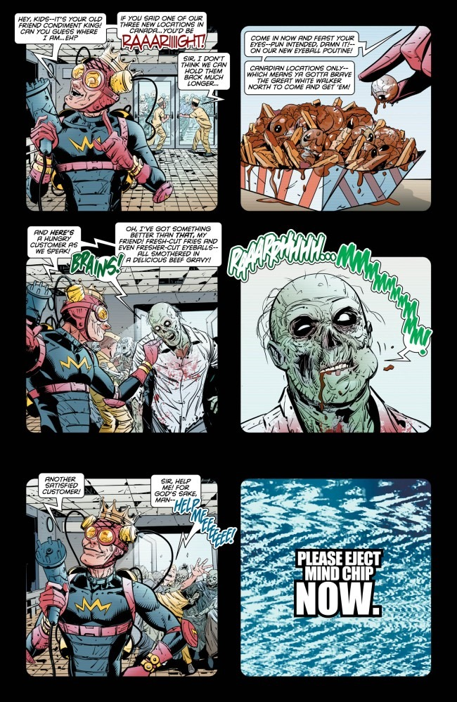 Preview Old Lady Harley 1 By Tieri Amp Miranda DC