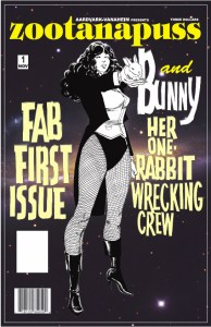 Zoontanapuss 1 Cover by Dave Sim
