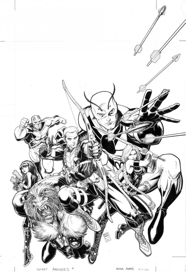 Web Arted Nov 21st • Comic Book Daily