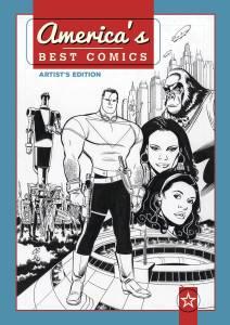 America's Best Comics Artist's Edition cover prelim
