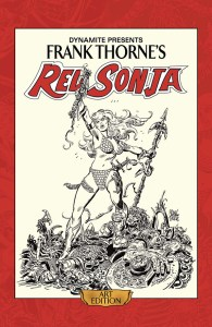 Frank Thorne's Red Sonja Art Edition cover