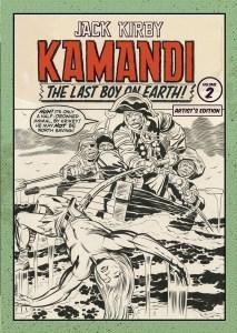 Jack Kirby Kamandi Artist's Edition Vol 2 cover