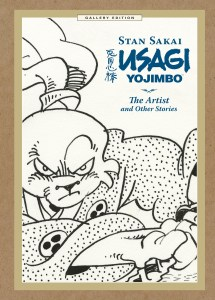 Usagi Yojimbo The Artist and Other Stories Gallery Edition cover prelim