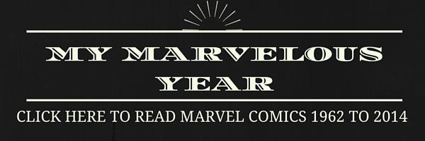 Comic Book Herald's My Marvelous Year