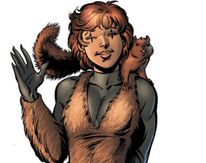 WHAT THE SQUIRREL GIRL?