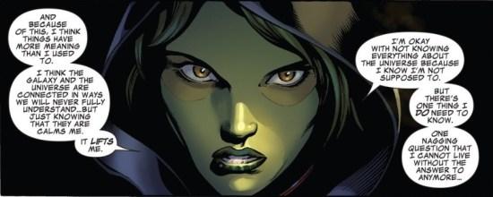 Gamora's monologue