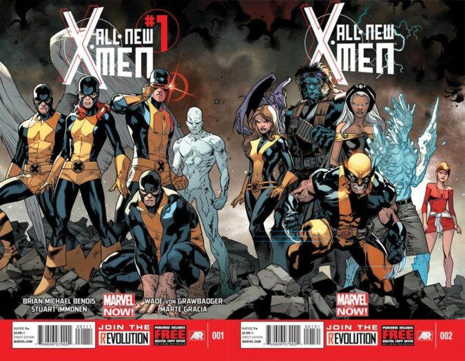 All New X-Men from Bendis!
