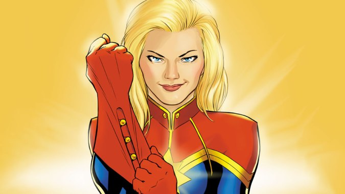 all new marvel now Captain Marvel