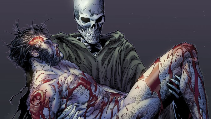 The death of wolverine cover