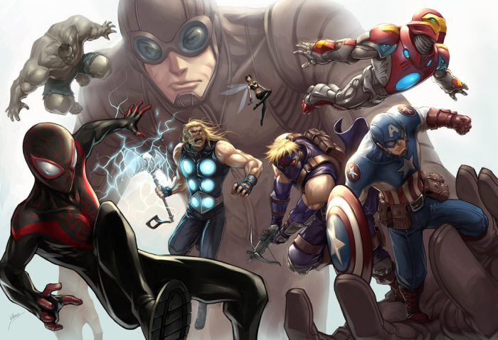 The All New Marvel Ultimate Ultimates