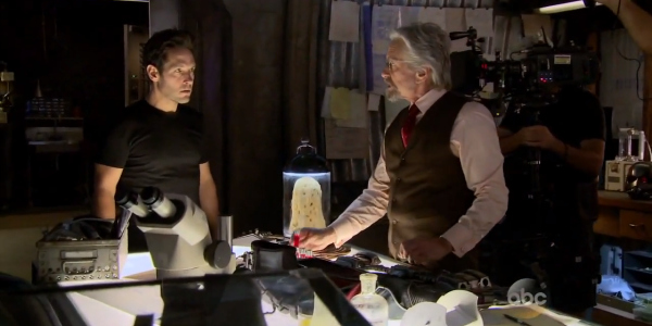 Scott Lang and Hank Pym talk ant man