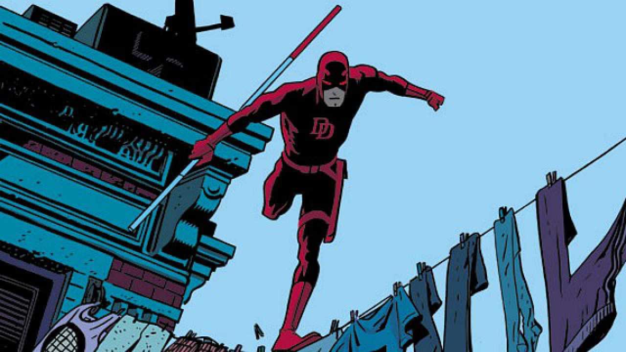 the Mark Waid era Daredevil comcis