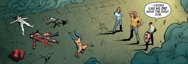 Welcome to the Mighty Avengers, Gideon Mace's heart. Hope you survive the-- oh, wait...