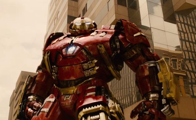 Iron Man in his Hulkbuster armor