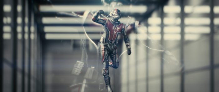 Ant man gets small