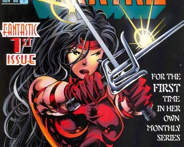 Elektra 90s comics