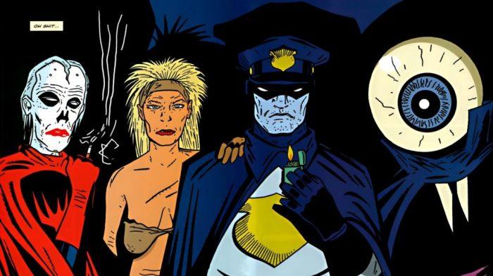 Image comics art from Bulletproof Coffin