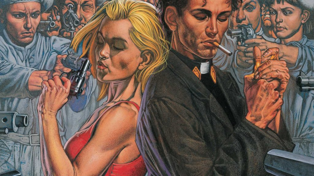 Preacher comics from Garth Ennis and Steve Dillon