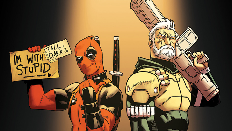 Deadpool and Cable team-up