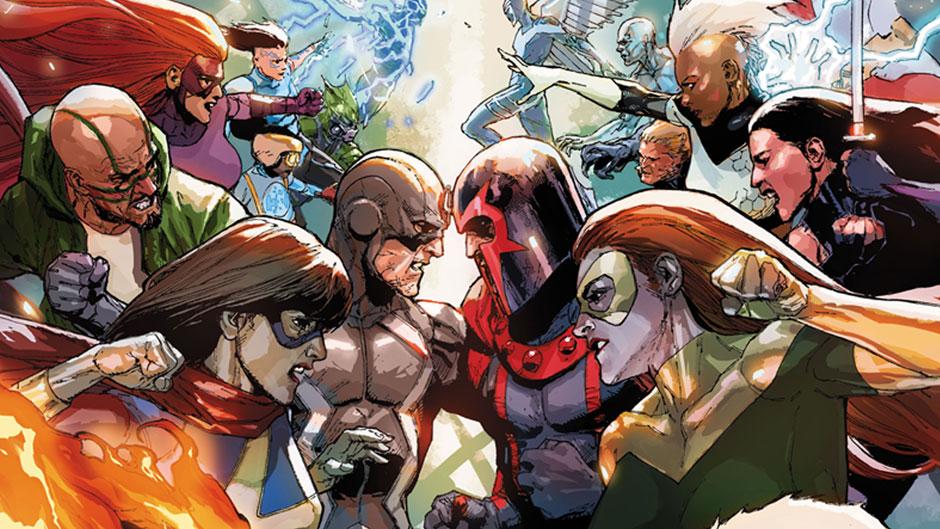 IvX Marvel Event