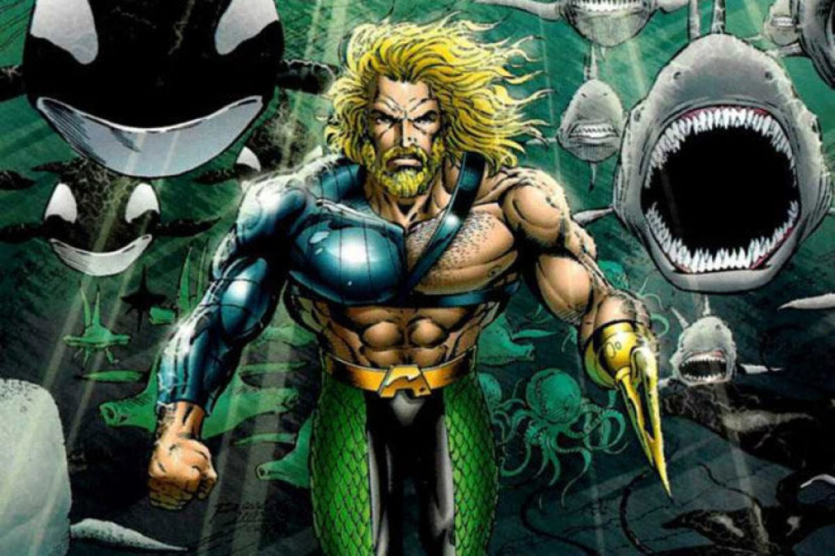 Aquaman gets a hook for a hand in DC's 1990 comics