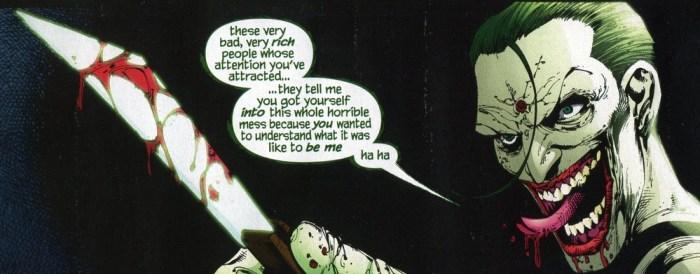 The Joker in Batman RIP