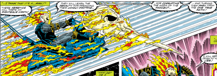 Ghost Rider in 90s Guardians comics