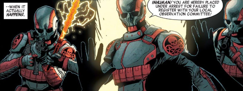 Hydra takeover in Secret Empire