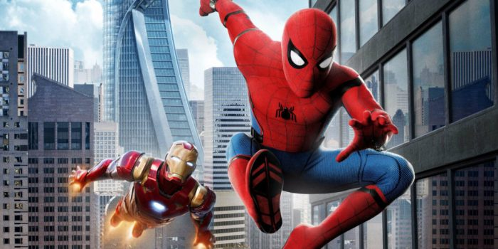 Spidey and Iron Man in the MCU