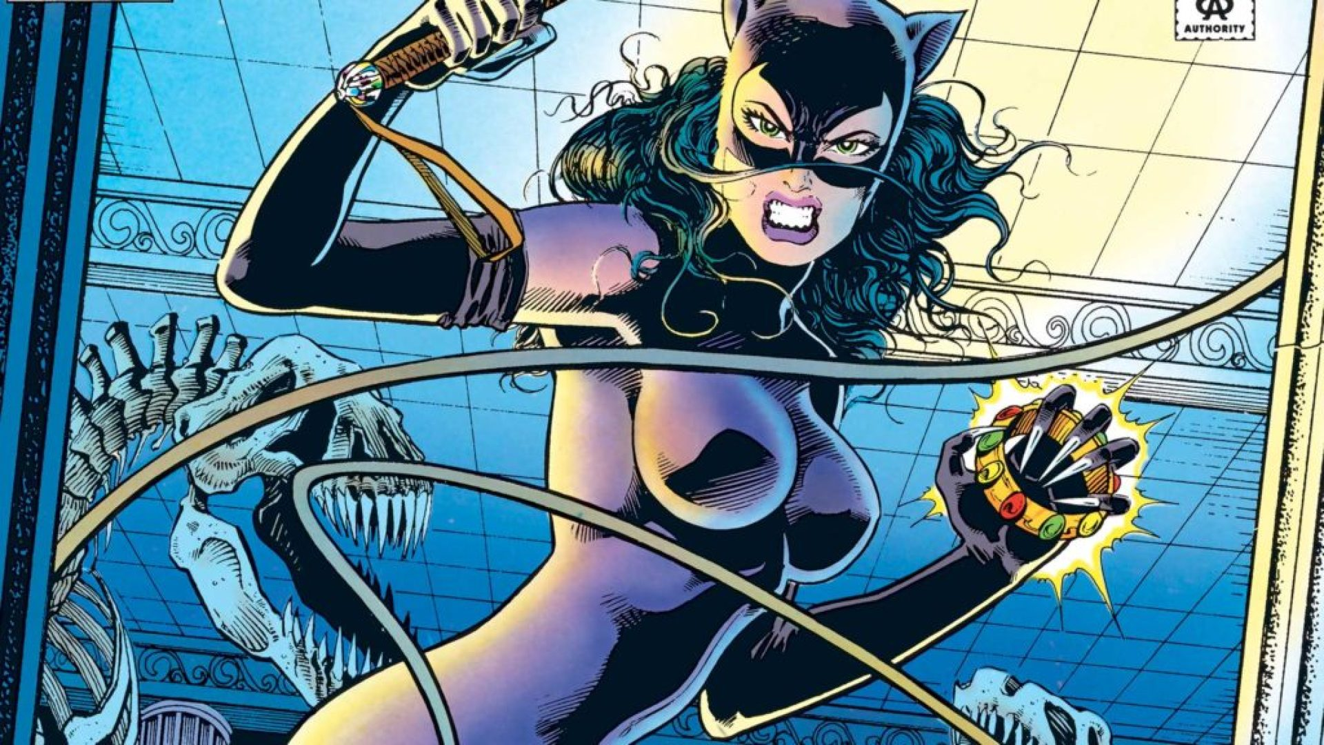 Jim Balent art of Catwoman