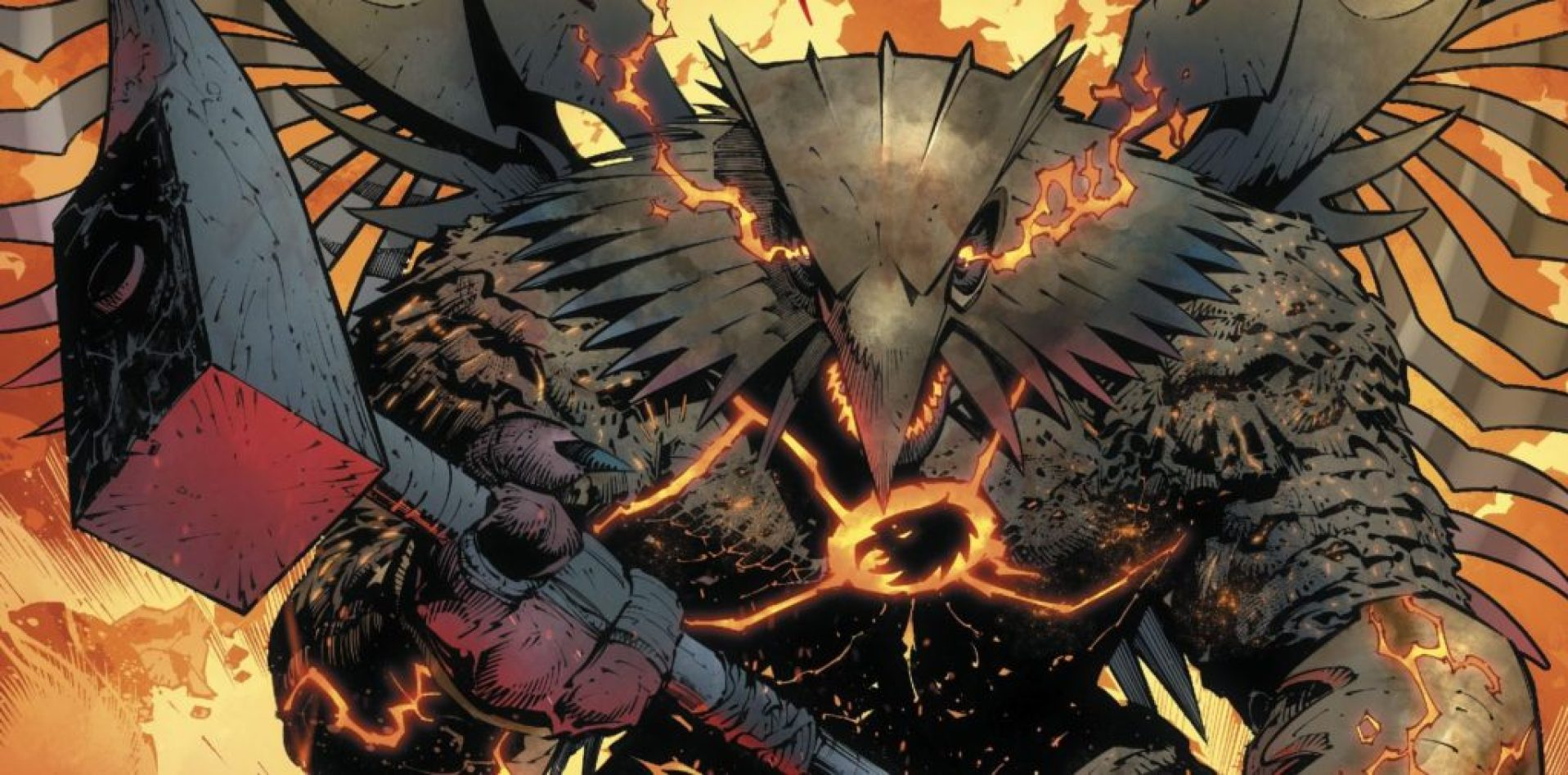 Hawkman Found in DC Metal