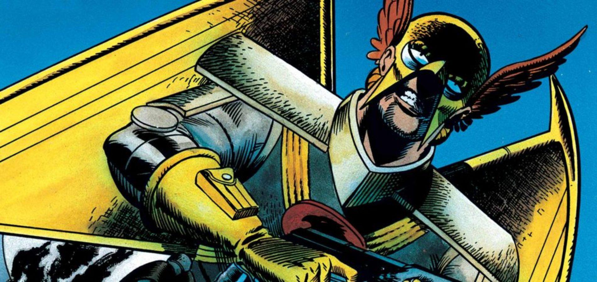 Hawkworld comic book miniseries