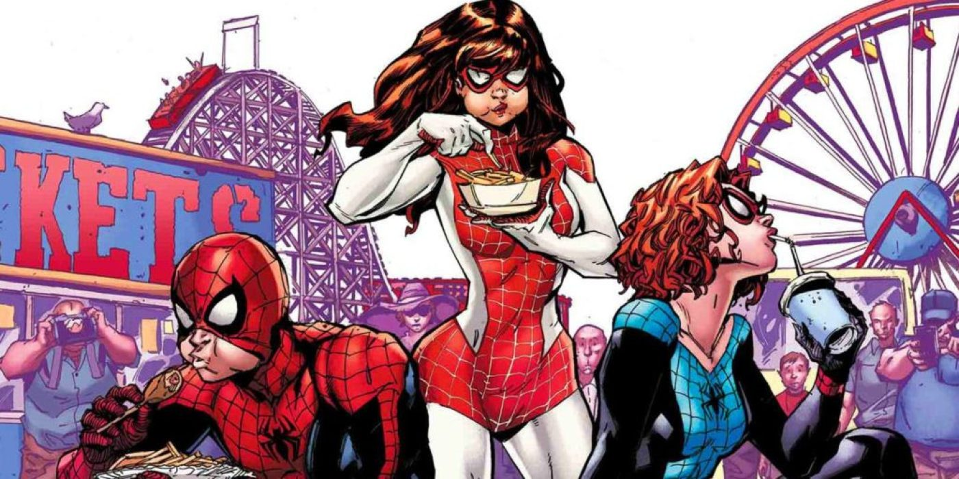 Amazing Spider-Man in the renew your vows universe