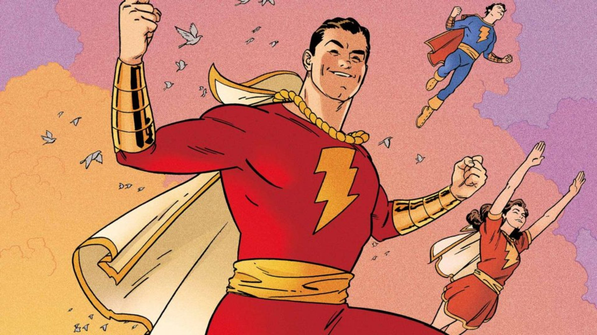 Shazam aka Captain Marvel in DC Comics