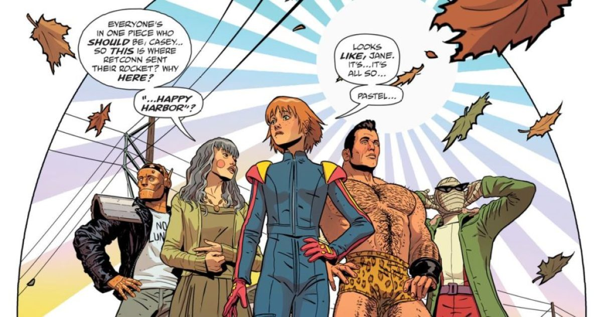 Gerard Way curating Young Animal and writing Doom Patrol for DC