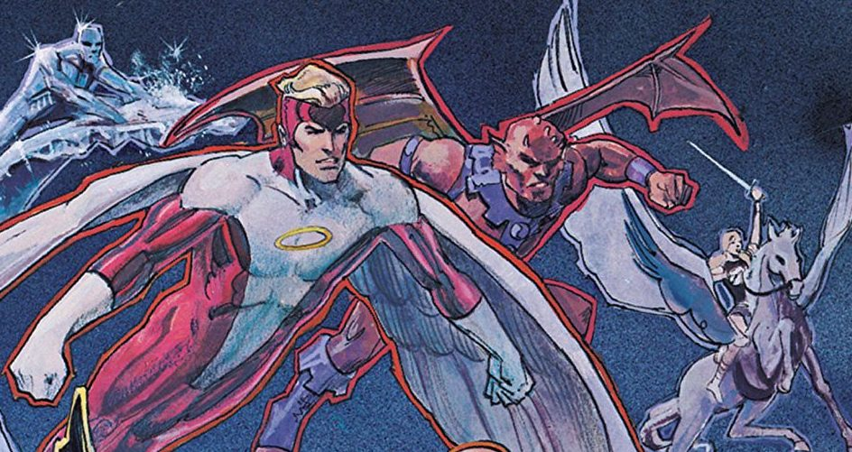 Marvel's 1980's New Defenders written by Peter Gillis