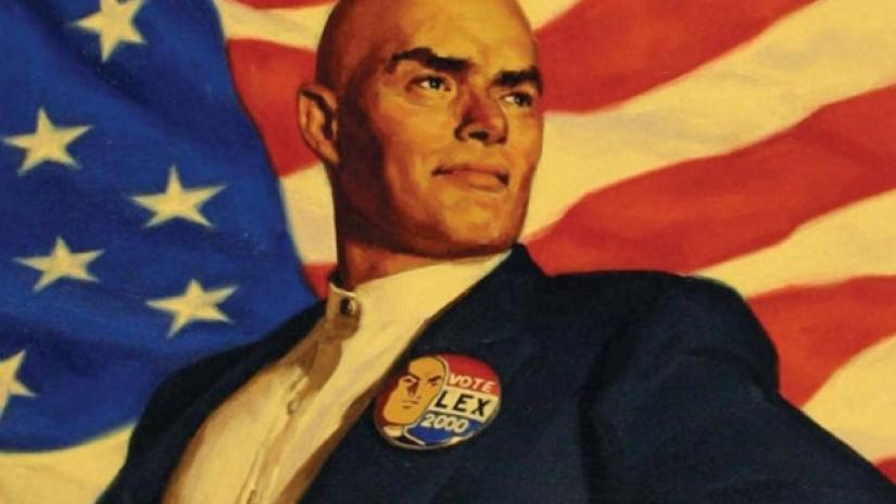 Lex Luthor elected president