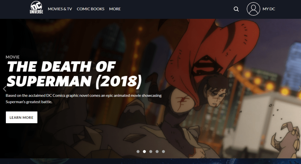 Is Dc Universe Streaming App Worth It In 2019 - Dc-universe-us-map