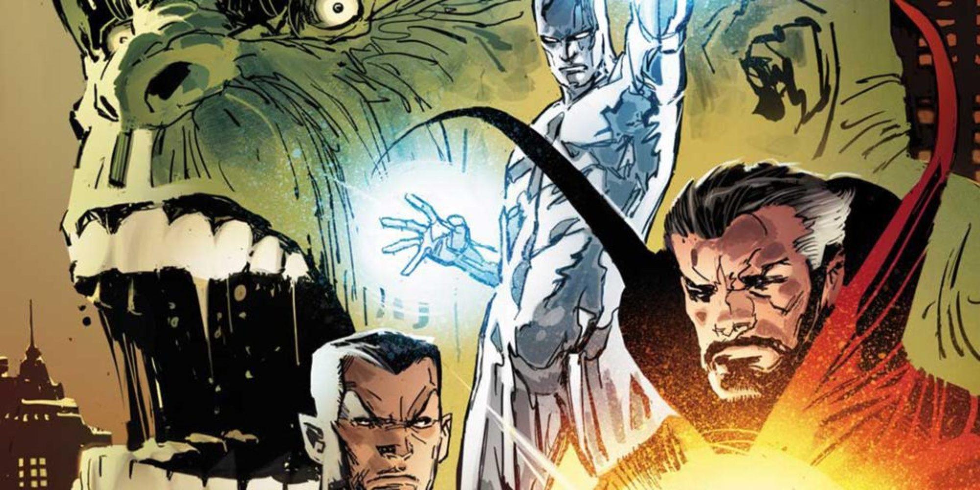 The Defenders Best Defense comic book checklist