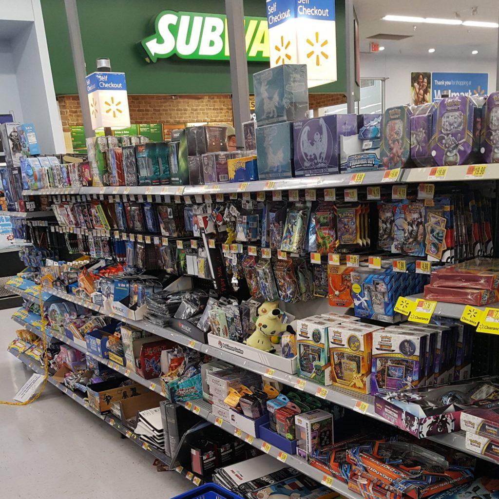 Where are the DC Comics at Walmart?