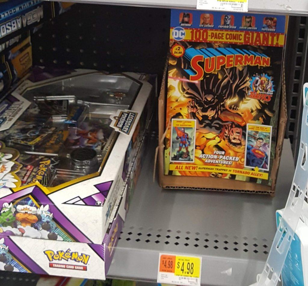DC Comics at Walmart stores