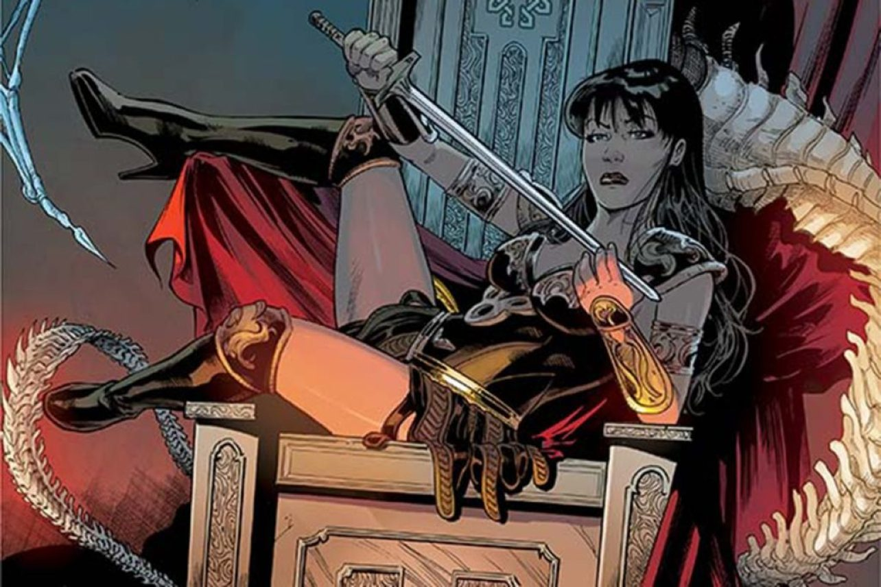 Xena Warrior Princess comic books